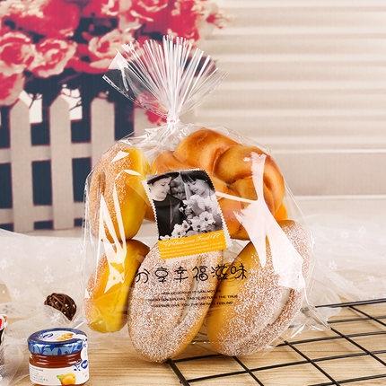 中方包袋分享幸福滋味面包吐司袋100个